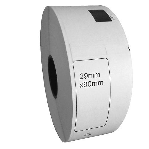 Endlos kompatible Etiketten Rolle für Brother PTouch-QL-570 17x54 mm D Office Pr